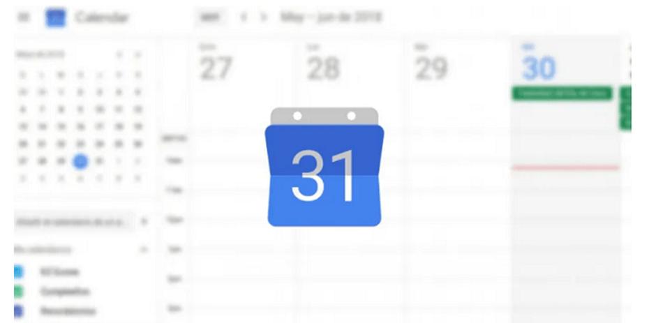 Resultado de imagen de google calendar